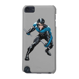 Nightwing with Weapons iPod Touch (5th Generation) Case