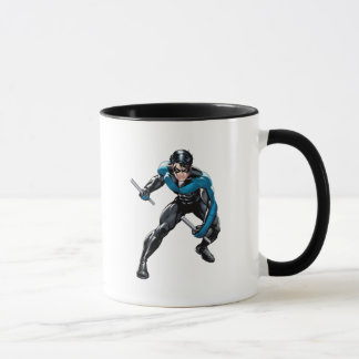 Nightwing with Weapons Mug