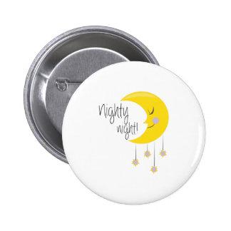 Nighty Night Pinback Buttons