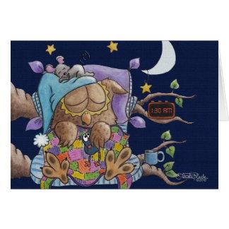 Nighty Night,Owl Card