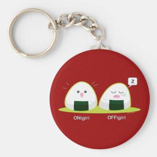 Nigiri Basic Round Button Key Ring