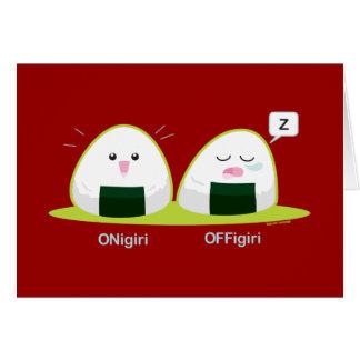 Nigiri Greeting Card