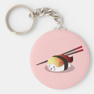 Nigiri Hokkigai Basic Round Button Key Ring