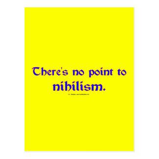 Nihilism Postcard