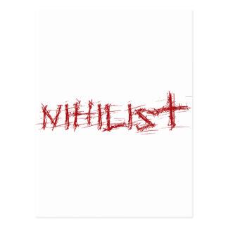 Nihilist Postcard