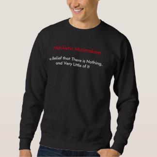 Nihilistic Minimalism (Men's sweatshirt Black)