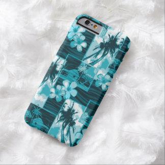Niihau Island Hawaiian Plumeria and Palm Tree Barely There iPhone 6 Case