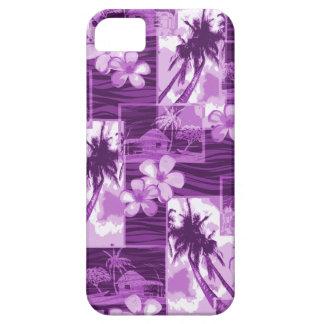 Niihau Island Hawaiian Plumeria and Palm Tree iPhone 5 Cover