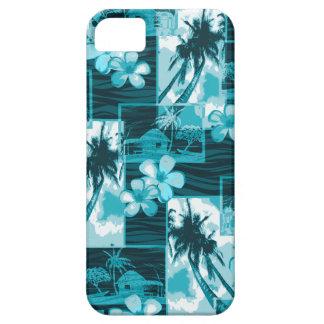 Niihau Island Hawaiian Plumeria and Palm Tree iPhone 5 Cases