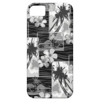 Niihau Island Hawaiian Plumeria and Palm Tree iPhone 5 Case