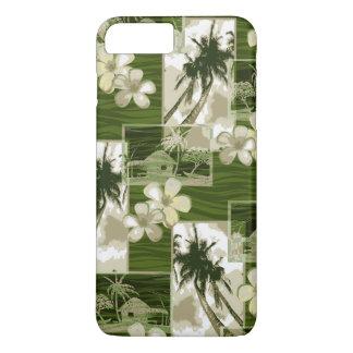 Niihau Island Hawaiian Plumeria and Palm Tree iPhone 7 Plus Case