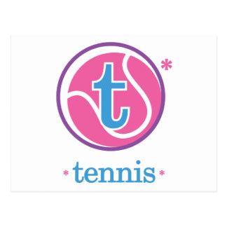 Nika Tennis Postcard