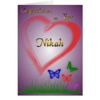 Nikah-Wedding Greeting Card