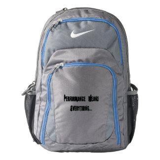 Nike Backpack, Dark Grey/M - HAMbWG Backpack