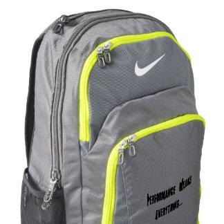 Nike Bookbag - Performance Means Everything Backpack