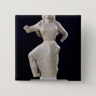 Nike, from Delos, c.550 BC 15 Cm Square Badge