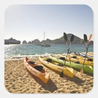 Nikki Beach Me Resort by Melia Cabo Cabo San Square Stickers