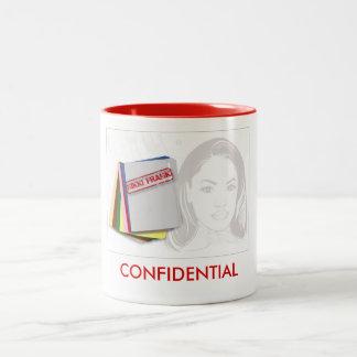 Nikki Frank Confidential Mug