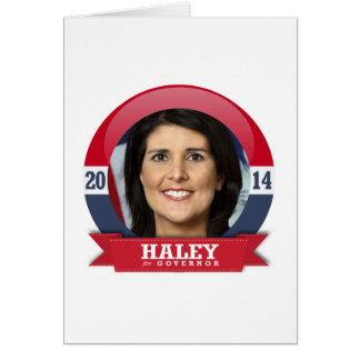 NIKKI HALEY CAMPAIGN CARDS