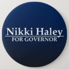 Nikki Haley for Governor 6 Cm Round Badge