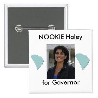nikki, southcarolina, southcarolina, NOOKIE Hal... 15 Cm Square Badge