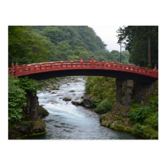 Nikkō - saint bridge postcard
