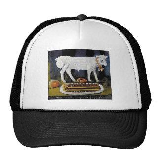 Niko Pirosmani- A paschal lamb Mesh Hats