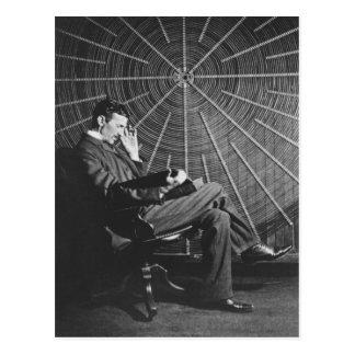 Nikola Tesla, 1896 Postcard