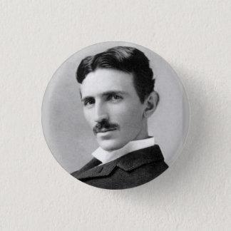 Nikola Tesla 3 Cm Round Badge