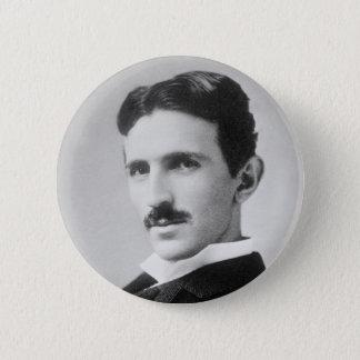 Nikola Tesla 6 Cm Round Badge