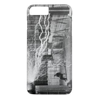 Nikola Tesla at his Colorado Springs Lab, 1899. iPhone 8 Plus/7 Plus Case