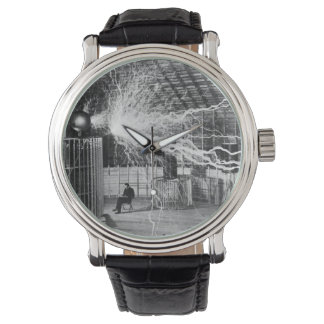 Nikola Tesla at his Colorado Springs Lab, 1899 Watch