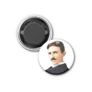 Nikola Tesla Electrical Genius 3 Cm Round Magnet