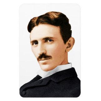 Nikola Tesla Electrical Genius Rectangular Photo Magnet