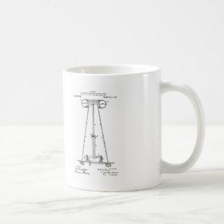 Nikola Tesla Energy Transmission Pantent US1119732 Coffee Mug