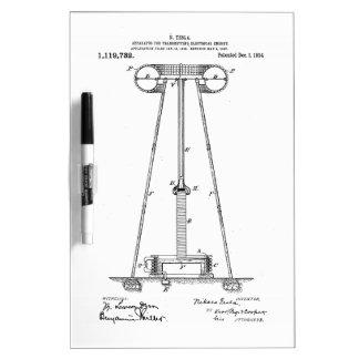 Nikola Tesla Energy Transmission Pantent US1119732 Dry-Erase Whiteboards