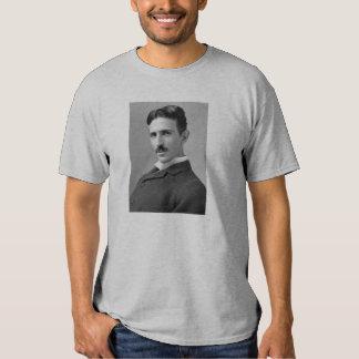 Nikola Tesla Head Shot Tee Shirts