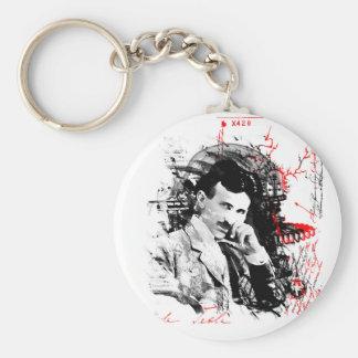 Nikola Tesla Key Chain