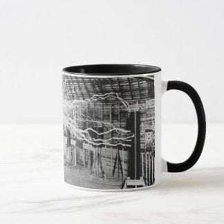 Nikola Tesla Lightning Inventor Mug