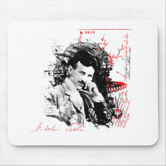Nikola Tesla Mousepads