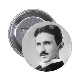 Nikola Tesla Pinback Buttons