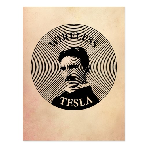 Nikola Tesla Post Cards