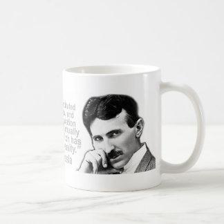 Nikola Tesla Quoted Wisdom Coffee Mugs