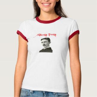 Nikola Tesla Ringer T Shirt