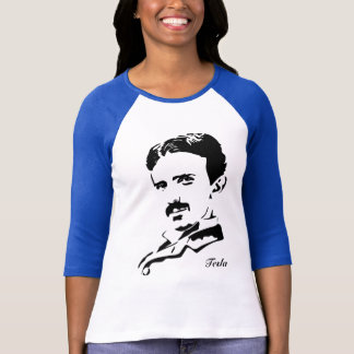 Nikola Tesla Rules! Black T-Shirt