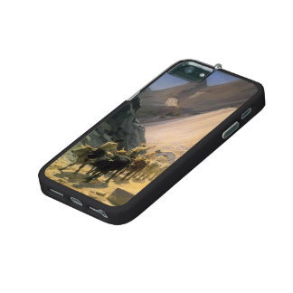 Nikolai Ge-The Transportation of Marble at Carrara Cover For iPhone 5/5S