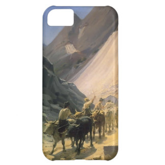 Nikolai Ge-The Transportation of Marble at Carrara Cover For iPhone 5C