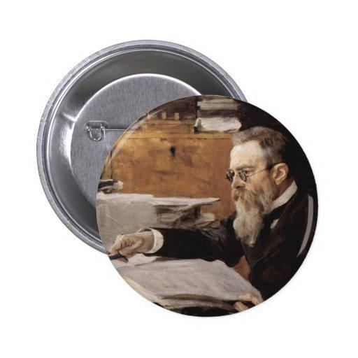 Nikolai Rimsky-Korsakov items 6 Cm Round Badge