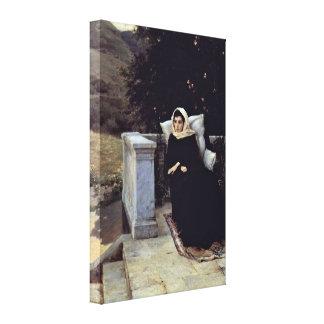 Nikolay Aleksandrovich Yaroshenko - Land warm Gallery Wrapped Canvas