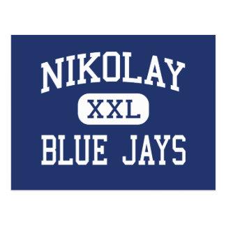 Nikolay Blue Jays Middle Clinton Wisconsin Postcard
